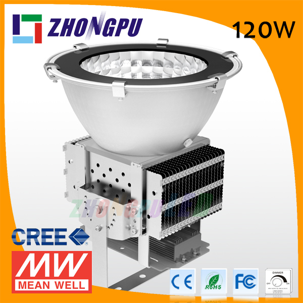 120W LED High Bay Flood Light Outdoor LED Basketball Court